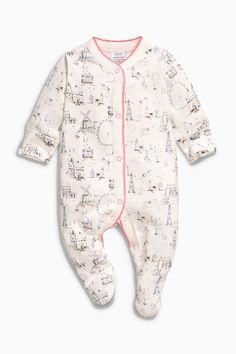 Buy Pink Windmill Sleepsuits Three Pack (0mths-2yrs) from the Next UK online shop