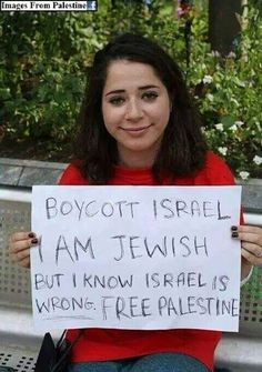 Bless her for knowing right from wrong. Free Palestine.