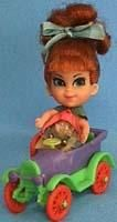 Teresa Touring kar -  still have the car, not sure about the doll.