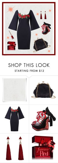 """""""Josephine"""" by nashalymoe ❤ liked on Polyvore featuring Designers Guild and Charlotte Olympia"""