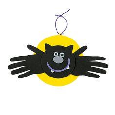 Handprint Bat Craft Kit - OrientalTrading.com