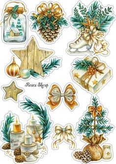 Terrific Snap Shots Scrapbooking Paper imprimibles Popular Scrap booking has become a business onto per se with modern years. It offers undoubtedly already bee Christmas Clipart, Christmas Stickers, Christmas Tag, Christmas Printables, Christmas Pictures, Vintage Christmas, Christmas Crafts, Christmas Ideas, Journal Stickers