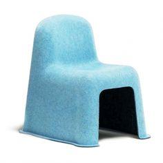Chaise enfant Little Nobody - Bleu - 136€