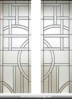 Doors by Design - Leaded glass options