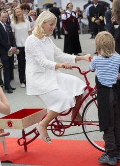 Royal Family of Norway in Trondheim city for the Jubilee Tour