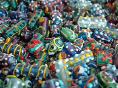 wonky bead ideas    Bead Ornaments in the Garden thumbnail