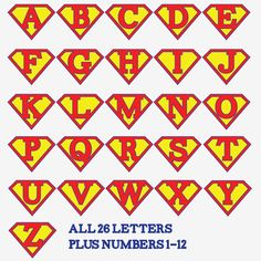 Printable Superman Birthday Party Banner Plus Printable Iron-On
