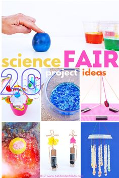 20 Science Fair Projects for Kids- based on grade level.