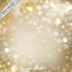 Fondo de oro de la Navidad con las chispas - http://www.freepik.es/