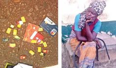 """Woman claiming to be """"Mad"""" caught with ATM and Sim Cards"""