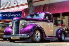 Dodge Truck with purple... support for #IGoPurple for awareness of #Alzheimers  #Dodge