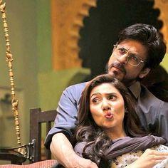 Sweeeet SRK Cute Mahira Khan