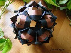 Origami ♥ COFO ♥ Kusudama - YouTube