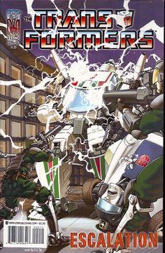 Transformers Escalation 2A (2006 IDW)    Transformers, Transformers Escalation www.detoyboys.nl