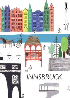 Innsbruck, Austria: is the capital city of the federal state of Tyrol (Tirol). It is located in the Inn Valley about halfway between Munich (Germany) and Verona (Italy). A renowned winter sports center, it hosted the 1964, 1976 and 1984 Winter Olympics. I arrived in Fall 1976 from Salzburg. I was greeted by an elderly lady offering rooms for rent as I stepped off the train. I followed her home and met other Americans, had home cooking and my clothes washed. We all even went disco dancing.