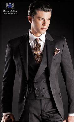 Traje de novio gris 879 ONGala Wedding suit