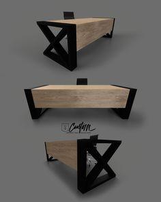 Douglas Desk - IndustrialReclaim.com