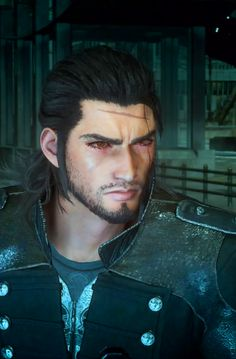 Final Fantasy XV, Gladio Final Fantasy Xv, Final Fantasy Collection, Final Fantasy 15 Gladiolus, I Need A Nap, What's So Funny, Cartoon Video Games, Human Reference, Creepy Clown, Fantasy Characters