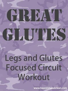 Use this fun, fast paced glute workout on your next trip to the gym! Not boring and super efficient!