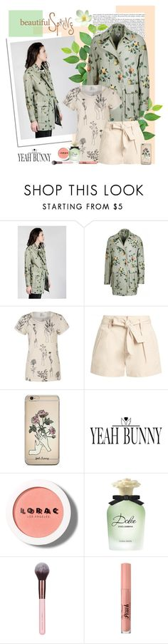 """""""Spring with Yeah Bunny"""" by polybaby ❤ liked on Polyvore featuring Étoile Isabel Marant, Yeah Bunny, LORAC, Dolce&Gabbana and Too Faced Cosmetics"""