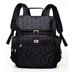 $45. 15.7 x 7.1 x 15.7 inch. Zip up wipes pocket. No back pocket. YuHan Waterproof Baby Diaper Bag Nappy Backpack Changing ...