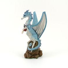 Vintage Enchantica Carrier Dragon  Samphire
