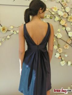 Short Backless Wedding Bridesmaid Dresses Under 100 , $89.99