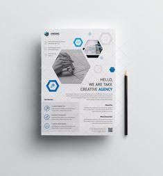 Flyer Design Inspiration, Design Ideas, Flyer And Poster Design, Flyer Size, Annual Report Design, Graphic Design Templates, Business Flyer Templates, Corporate Flyer, Brochure Design