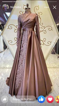 Muslim Evening Dresses, Hijab Evening Dress, Hijab Dress Party, Muslim Dress, Modest Dresses, Stylish Dresses, Elegant Dresses, Pretty Dresses, Beautiful Dresses