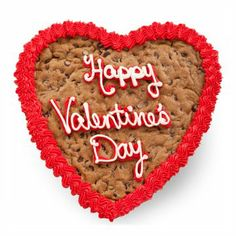 Mrs. Fields Valentine's Heart Cookie Cake is the ideal gift for your sweetheart this St. Valentines Day! #valentines #giftideas #cookies