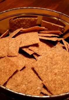 Sourdough wheat crackers Uses for leftover or extra sourdough starter