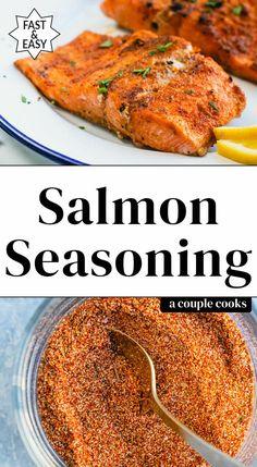 Baked Salmon Recipes, Fish Recipes, Seafood Recipes, Cooking Recipes, Healthy Recipes, Smoker Recipes, Soup Recipes, Homemade Spices, Homemade Seasonings