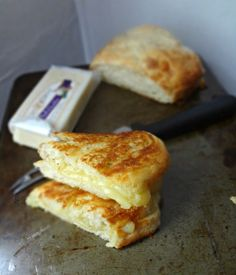 The Cooking Actress: Garlic Herb Ciabatta Grilled Cheese (best...grilled cheese...EVER!)