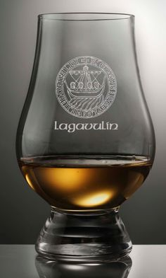 CLAN MACKAY SCOTCH WHISKY GLENCAIRN COPITA NOSING GLASS WITH GINGER JAR TOP