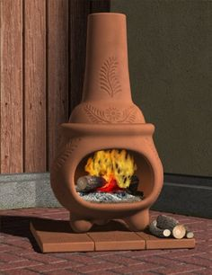 Beautiful Clay Chimineas For Sale Cheap | Wishlist