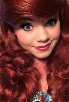 Ariel, Disney's Little Mermaid. Lighter lip and hair for me.