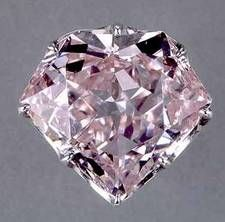 The Hortensia Diamond is a pale pink, orange diamond that was originally part of the jewel collection of the French Crown. It was lost/stolen with all of the other gems in Marie Antoinette's collection during the French Revolution. A man named Depeyron confessed its secret location while on the chopping block facing execution. The diamond gets its name from Hortense de Beauharnais the Queen of Holland who wore the diamond. It was also mounted on the epaulette braid of Napoleon for a short time.