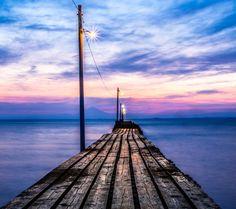 まるで地球の果てへと続く道。本当は教えたくない絶景の桟橋「原岡海岸」とは 4枚目の画像