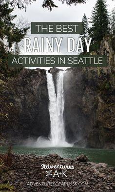 Seattle Activities, Rainy Day Activities, Indoor Activities, Washington Nationals Park, Tacoma Washington, Washington State, Seattle Winter, Seattle Rain, Washington Things To Do