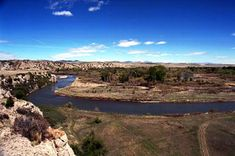 Wild and Scenic Upper Missouri River, Montana, Lewis and Clark trail: 149 miles worth of paddle-worthy water.  Some day...