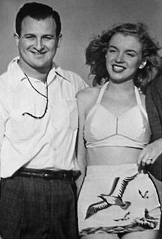 Marilyn & her first husband