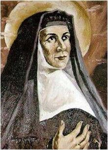 Blessed Joachima (1783-1854) ~ She established the Carmelite Sisters of Charity in Barcelona, Spain. | Joachima understands loss. .... When our own lives go spinning out of control, when illness and bereavement and financial hardship strike, all we can do is cling to the belief that sustained Joachima: God watches over us always.