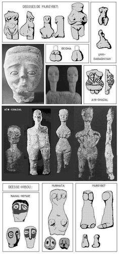 Pre-Pottery Neolithic A (PPNA): Gobekli Tepe Cayönü Jeriko Tell Aswad Mureybet Andre steder inkluderer: Netiv HaGdud, El Khiam,Hatoula, Nahal Oren, Sheyk Hasan og Jerf el-Ahmar Netiv HaGdud, El-Kh…