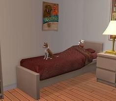 Mod The Sims - Pets and Children share Bed