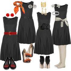 6. Vestido preto impecável -  Vestido preto basico: dicas de moda