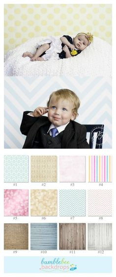 Designer Photography Backdrops - 5 x 5. AWESOME deal!