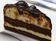 Μια τούρτα που πραγματικά έλειπε από το συνταγολόγιο μου. Τούρτα προφιτερόλ. Αυτό το υπέροχο γλύκισμα που όλοι λατρεύουμε, τώρα και σε τούρτα. Με μοναδικό γλάσο σοκολάτας,Τούρτες προφιτερόλ θα βρείτε πολλές, σαν αυτή, μόνο μια!! Δοκιμάστε αυτή την υπέροχη καταστροφή!!  Υλικά για τσέρκι 24 εκ.:Για το παντεσπάνι: 100 γρμ. ζάχαρη 30 γρμ. αλεύρι για όλες … Greek Sweets, Greek Desserts, Party Desserts, Greek Recipes, Sweets Recipes, Baking Recipes, Cake Recipes, Low Calorie Cake, Vegetarian Sweets