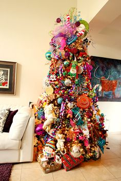 decoracion es diferentes para arboles de navidad - Buscar con Google