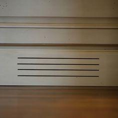 Signature vent of Designer Ron Lunt.