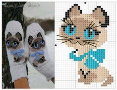 Ideas crochet kids mittens pattern for 2019 Knitting For Kids, Crochet For Kids, Knitting Projects, Baby Knitting, Crochet Baby, Knitting Charts, Knitting Stitches, Knitting Patterns, Crochet Patterns
